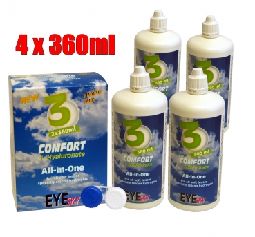 EYE-Sky 3 All in One Comfort (4x360ml)